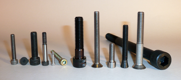 socket head cap screw options